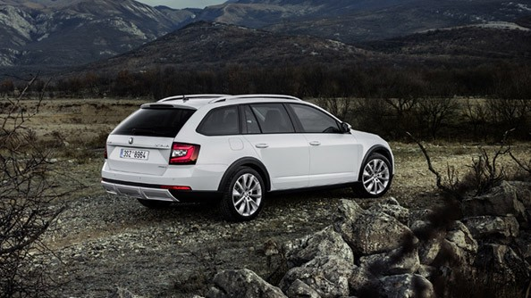 "Ready to Rumble The ŠKODA Octavia Scout is a weekend warriors dream. With its adventurer spirit, 4x4 capabilities, steep-slope descent control, optional 17"" Alloy wheels and 187mm of ground clearance, it's a rugged outdoor companion that is equally happy in the urban jungle."