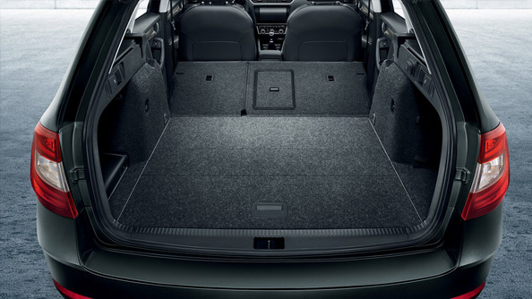 More Space to Breathe Boasting up to 1,740L of seat-down trunk capacity, plus offering exceptional head and legroom, the ŠKODA Octavia wagon gives you, your clients and your precious cargo more space to move and the luxury to be moved in.