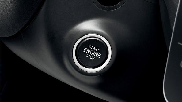 KESSY You no longer need to be holding your key in order to open and lock your car. The KESSY (Keyless Entry, Start and exit System) control unit recognises the key up to 1.5 metres away from the car. The vehicle unlocks automatically when the door handles or tailgate are operated. The engine starts at the push of a button.