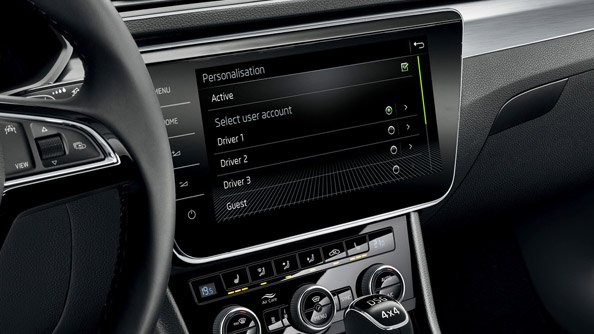 "Personalisation The personalisation mode lets different drivers call up their ""own"" individual settings immediately after activating the car. The car distinguishes the various users by the key they use to unlock it, and adjusts the settings accordingly based on the corresponding profile that has been saved."