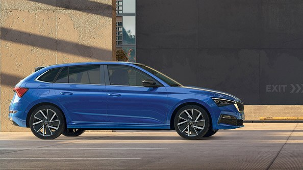 The Finest Engineering The SCALA is built on a state-of-the-art MQB platform, featuring advanced design, the latest powertrains and a panoply of the advanced driver-assistance systems commonplace in larger models.