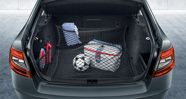 Stay Organised An organised boot can make all the difference. Our wide range of boot accessories help make storage simple and effective. Take our boot dishes, for example, fit with an aluminium partition that makes sure things don't spill or topple.