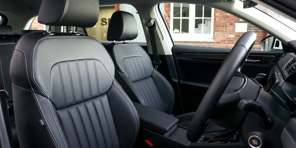 Superb iV Wagon interior from the drivers side